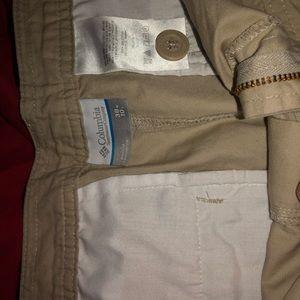 Columbia shorts.